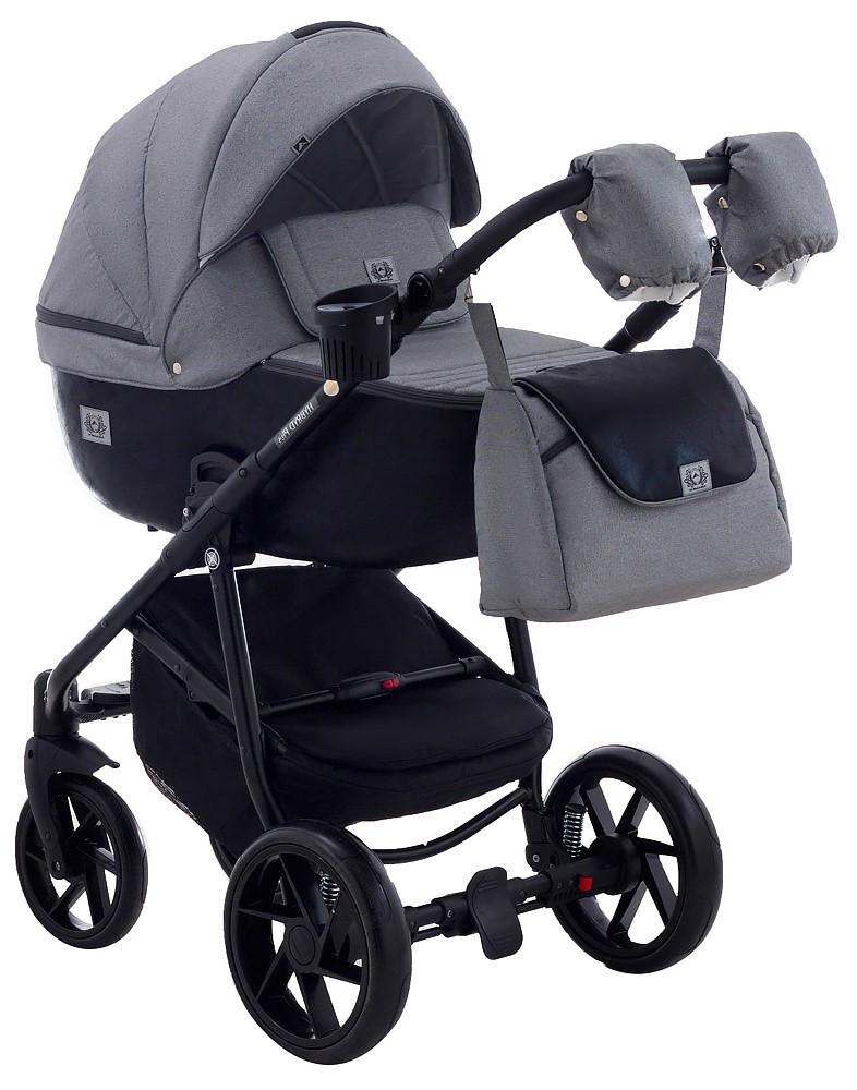 Детская универсальная коляска 2 в 1 Adamex Hybryd BR281