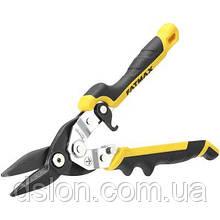 Ножницы по металлу STANLEY FMHT73756-0 прямые, L=250 мм, вес 430 г.