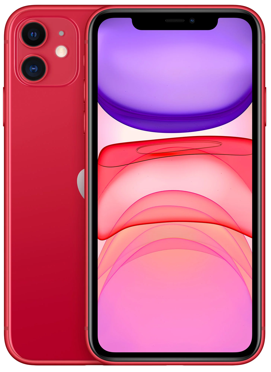 Смартфон Apple iPhone 11 64Gb Red (MWLV2)