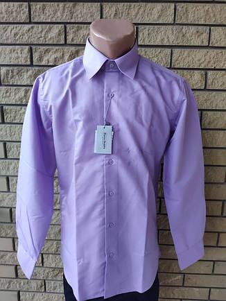 Рубашка мужская коттоновая маленького размера брендовая высокого качества PIERRE DENIRO, Турция, фото 2