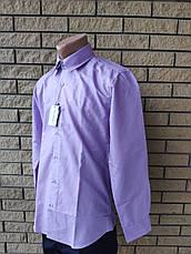 Рубашка мужская коттоновая маленького размера брендовая высокого качества PIERRE DENIRO, Турция, фото 3