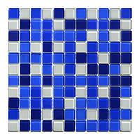 Aquaviva Мозаика стеклянная Aquaviva Сristall Bagama Dark DCM303