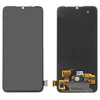 Дисплей для Xiaomi Mi 9 Lite (Mi CC9) M1904F3BG, модуль в зборі (екран і сенсор), чорний, оригінал