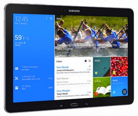 Samsung работает над новым планшетным компьютером с диагональю в 12 дюймов