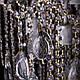 Классическая хрустальная люстра на цепи, на 6 лампочек P5-E1304/6/WT+FG, фото 2
