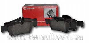 Комплект передних тормозных колодок на Рено Каджар / BREMBO P56100