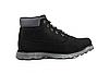 Зимние мужские ботинки Restime чёрные, нубук, размеры в наличии ► [ 41 42 43 44 45 46 ], фото 3