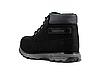 Зимние мужские ботинки Restime чёрные, нубук, размеры в наличии ► [ 41 42 43 44 45 46 ], фото 4