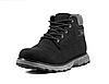 Зимние мужские ботинки Restime чёрные, нубук, размеры в наличии ► [ 41 42 43 44 45 46 ], фото 2