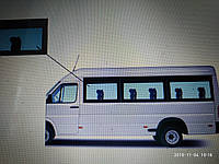 Блок з кватиркою Sprinter , VW LT 35 (95-06) Передній салон ліве (панорама) 780