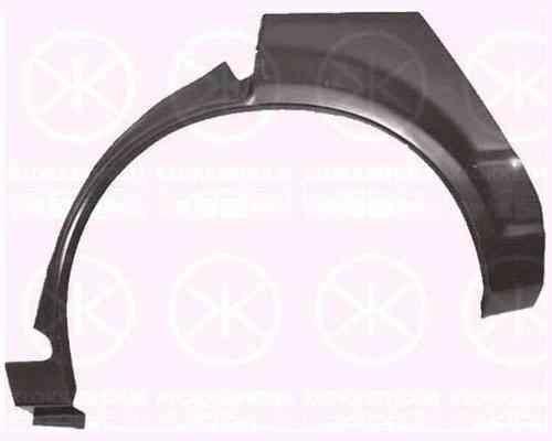 Ремонтная часть заднего крыла Ford Escort -86, 4/5дв., арка, правая (LKQ)
