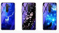 Чехол с красивым принтом и глянцевыми торцами Fantasy для Huawei Y7 Prime (2019) (выбор дизайна)