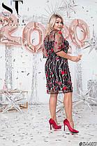 Супермодное платье с вышивкой, фото 3