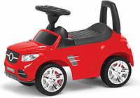 Детская машинка-каталка (красная) 2-001