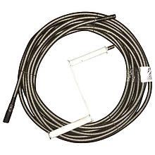 Многослойный сантехнический (канализационный) трос, диаметр - 8 мм. Любая длина