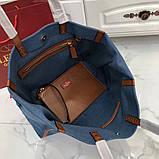 Сумка шоппер от Валентино Canvas, фото 2
