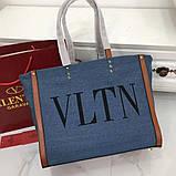Сумка шоппер от Валентино Canvas, фото 3