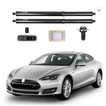 Электропривод задней двери багажника с дотяжкой для Tesla Model S