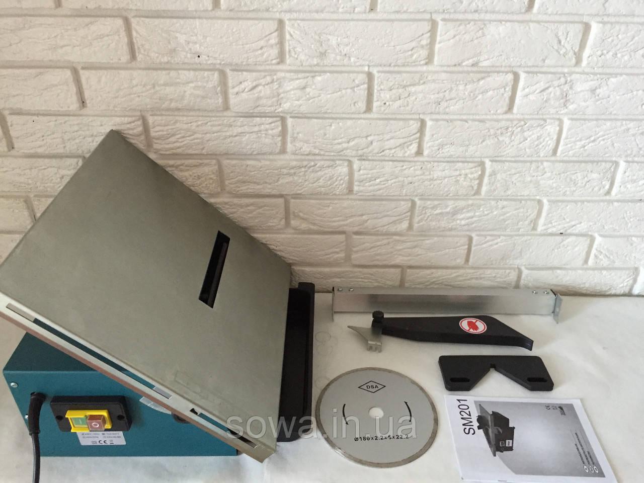 ✔️ Плиткоріз електричний Euro Сraft sm 201 / 180 диск