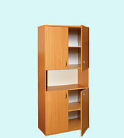Шкаф книжный 4-дверный