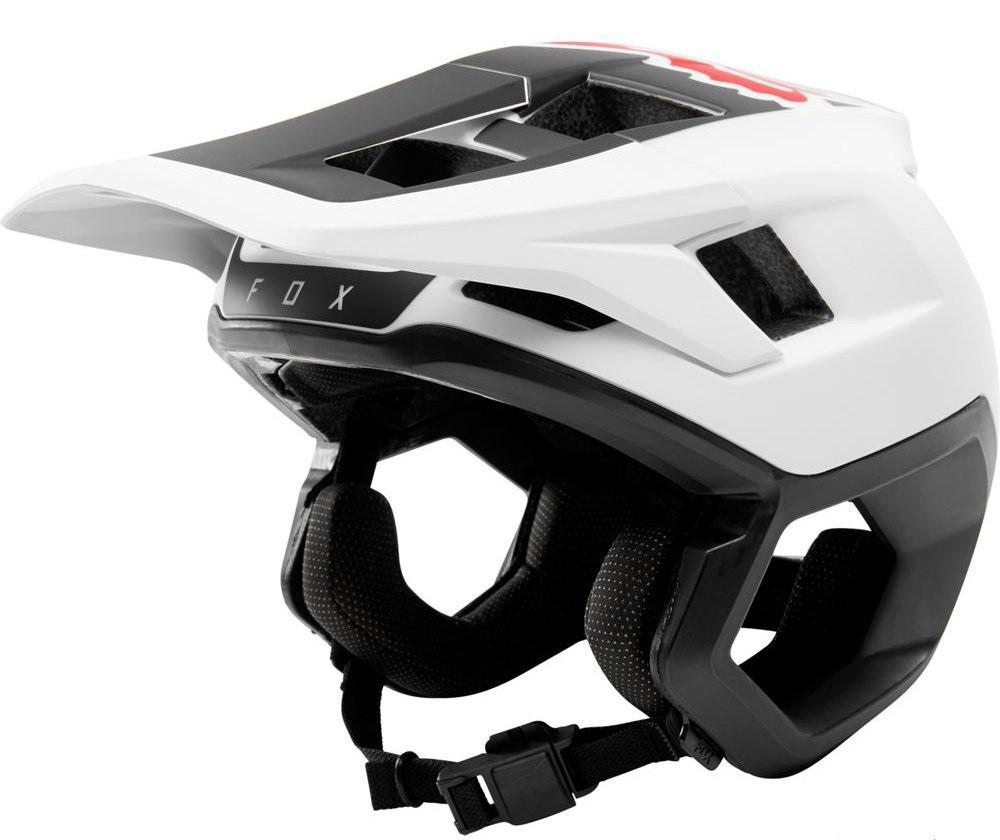 Вело шлем Fox Dropframe Helmet белый/черный, S
