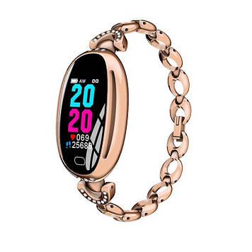 Розумні годинник Smart watch Smart-Fit E68 Original c тонометром Gold (SB0001E68G)