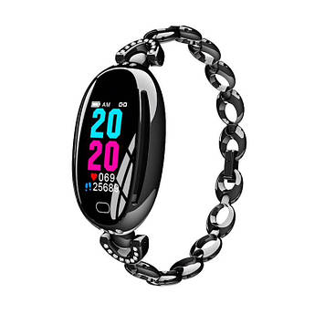 Розумні годинник Smart watch Smart-Fit E68 Original c тонометром Black (SB0001E68B)