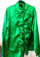 Рубашка карнавальная в стиле 70-х Диско зеленая