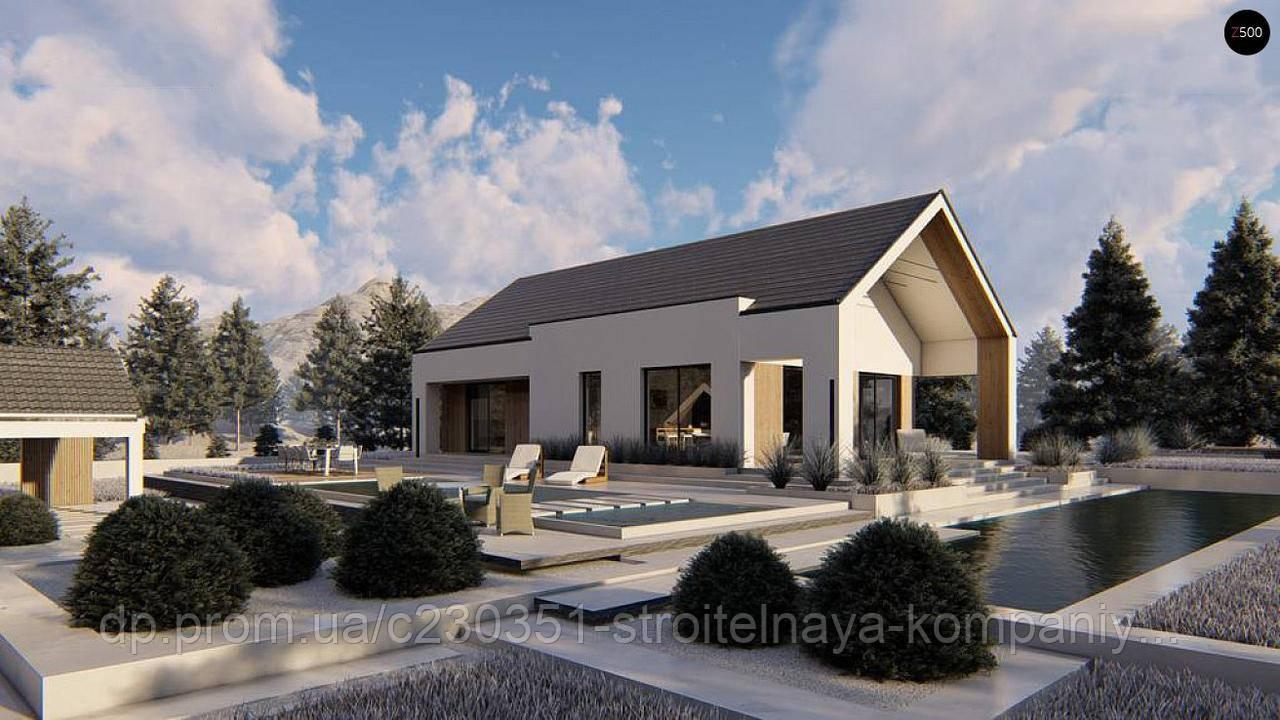 Проект дома uskd-96, фото 1