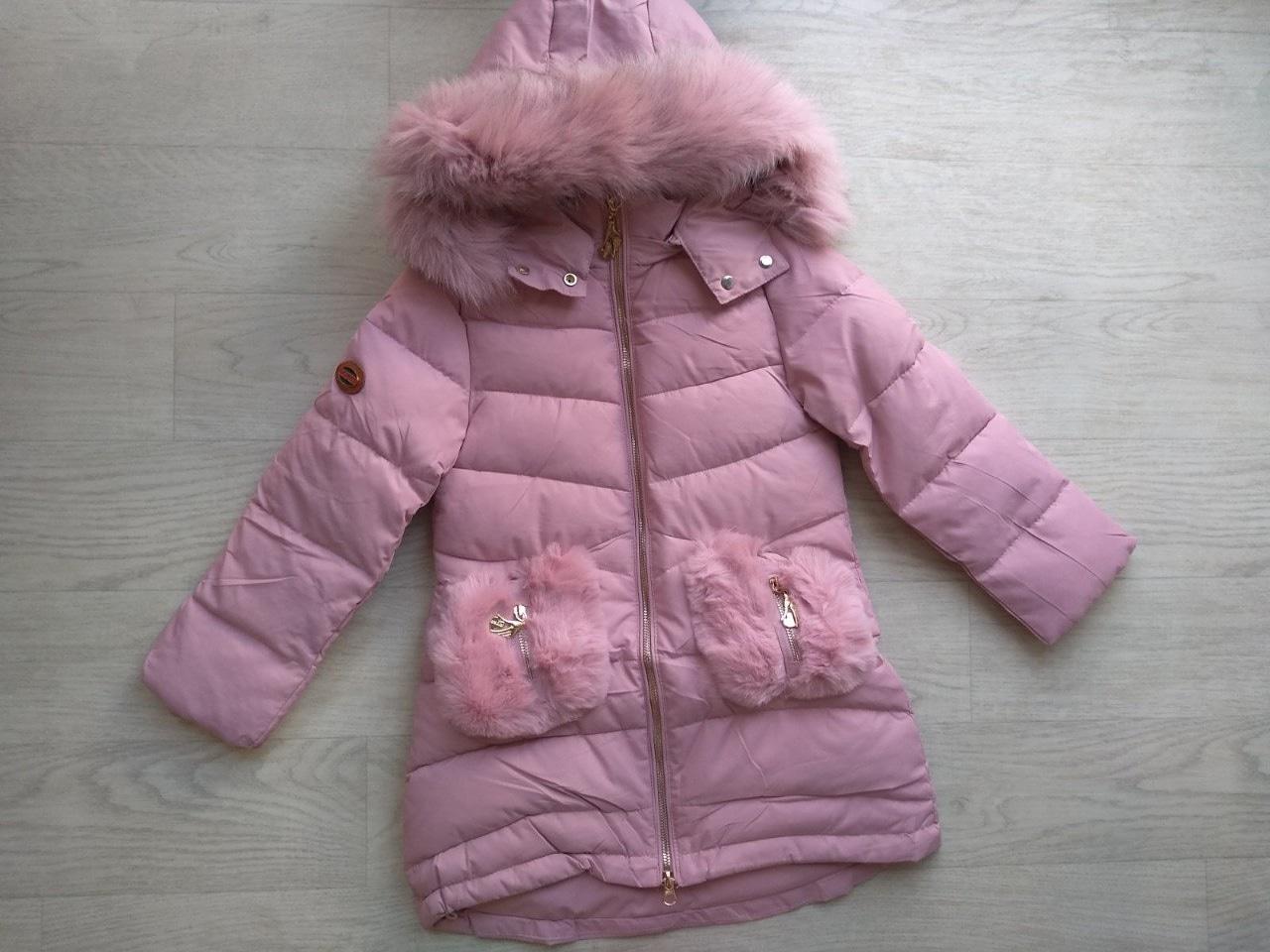 Зимняя куртка (р.116, 122, 128, 134)