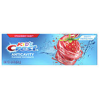 Детская зубная паста Crest Kid's Anticavity Cavity Protection Fluoride Toothpaste Strawberry Rush