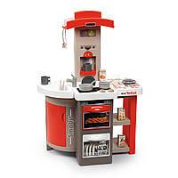 Интерактивная кухня Smoby Toys Тефаль Повар раскладная со звуковым эффектом Красная 312202