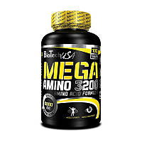 Комплекс аминокислот BioTech Mega Amino 3200 (100 таб) биотеч мега амино