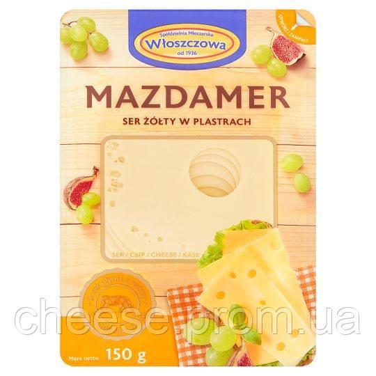 Сыр Маасдам 45% 150г Włoszczowski Польша
