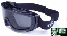 Очки-маска BALLISTECH-1 (SMOKE) - черные линзы