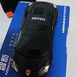Телефон-машинка Феррари, телефон раскладушка Newmind F15 черный цвет, на 2 сим-карты, фото 4