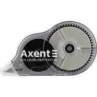 Корректор ленточный Axent XL 5ммx30м черный (7011-A)