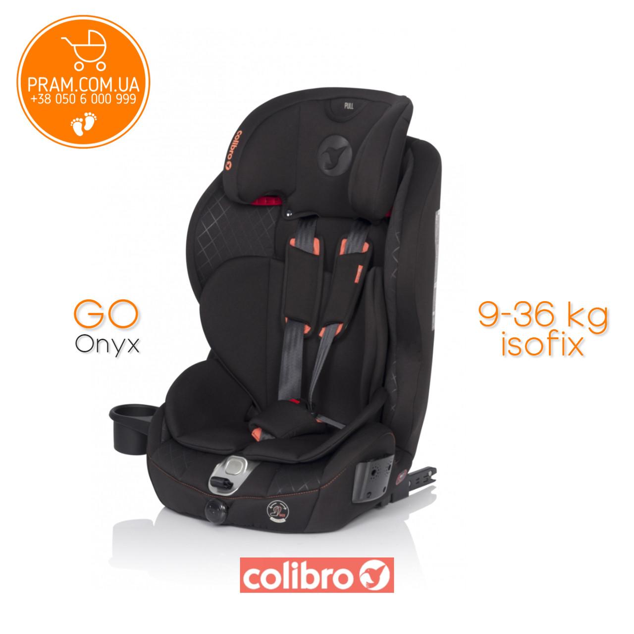 COLIBRO GOISOFIX 2019 автокресло группы 1-2-3 (9-36 kg) Onyx Черный