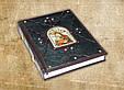 """Книга в кожаном переплете украшена художественным тиснением и камнями """"Христос Воскрес. Евангельская история"""", фото 2"""