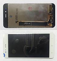 Дисплейний модуль для телефонів Xiaomi Mi A1, MI 5X, білий, УЦІНКА є мінімальний скол