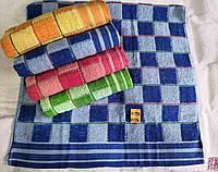 Полотенце банное махровое размер 140*70 см (от 8 шт) - 9885580