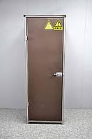 Шкаф для хранения двух баллонов с азотом