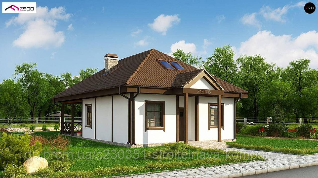 Проект дома uskd-97, фото 1