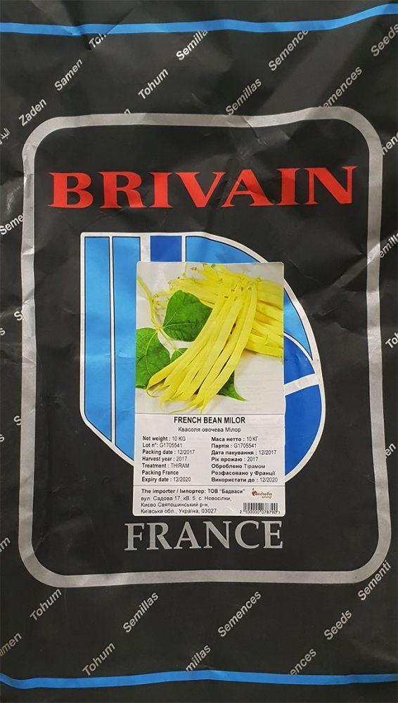 Фасоль овощная Милор, 10 кг, BRIVAIN