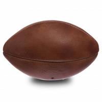 Мяч для регби сувенирный кожаный VINTAGE  Mini Rugby ball кожа, 4 панели (F-0266)