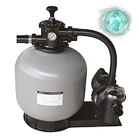 Фильтрационная установка Emaux FSF650 (15 м3/ч, D650) для бассейна. Фильтр с насосом