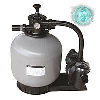 Песочная фильтровальная установка для бассейна  Emaux FSF650 (15 м3/ч, D650). Фильтр с насосом