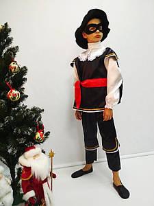 Костюм карнавальный для мальчика Зорро 5-9 лет