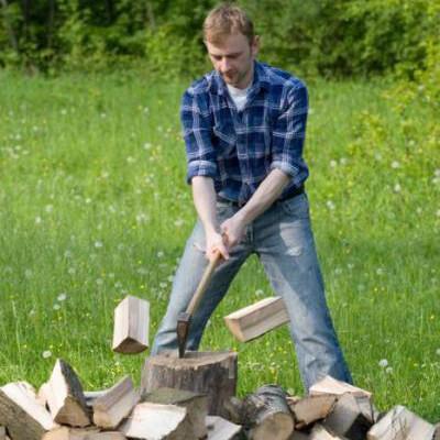 Вырубка деревьев, поколоть дрова, бензопила, покосить траву. КАЧЕСТВО