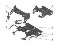 Ремвставка автомобиля ГАЗ (правая)(про-во ДетальАвтоКомплект) 3302-5401414-10